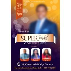 Super Sunday Conference flyer