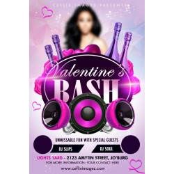 Valentine Bash Flyer