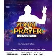 Zonal Day Of Prayer Flyer